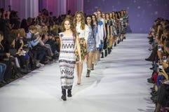 第39个乌克兰时尚星期在Kyiv 免版税库存照片