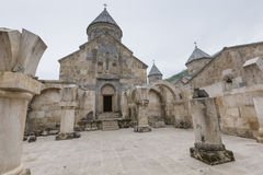 第13个亚美尼亚世纪haghartsin修道院 古老星期一 免版税库存照片