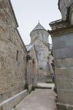 第13个亚美尼亚世纪haghartsin修道院 古老星期一 免版税图库摄影