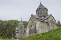 第13个亚美尼亚世纪haghartsin修道院 古老星期一 免版税库存图片