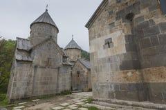 第13个亚美尼亚世纪haghartsin修道院 古老星期一 图库摄影