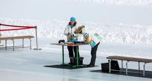 第28个冬天世界大学生运动会 图库摄影