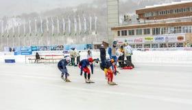 第28个冬天世界大学生运动会 免版税库存照片