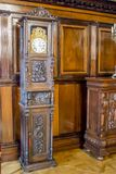 第16个和第18个世纪的涅斯维日城堡大厦的内部白俄罗斯的建筑学的纪念碑 库存图片