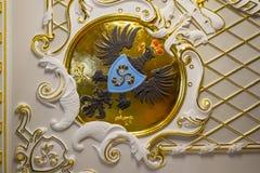 第16个和第18个世纪的涅斯维日城堡大厦的内部白俄罗斯的建筑学的纪念碑 免版税库存照片