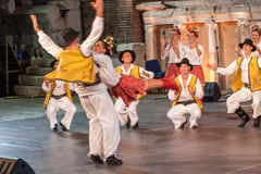 第21个国际节日在普罗夫迪夫,保加利亚 库存照片