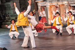 第21个国际节日在普罗夫迪夫,保加利亚 免版税库存照片