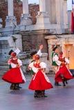 第21个国际节日在普罗夫迪夫,保加利亚 免版税图库摄影