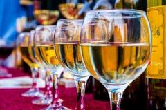 第14个国际酒节在别列戈沃 免版税库存图片