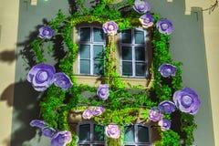 """第16个小店2018年 萨格勒布,克罗地亚†""""灯节在萨格勒布 免版税库存照片"""