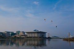 第5个布城国际热空气气球Fi 免版税库存图片