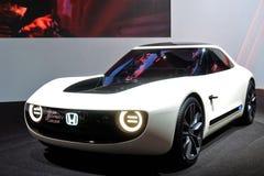 第88个日内瓦国际汽车展示会2018年-本田体育EV概念 免版税库存照片