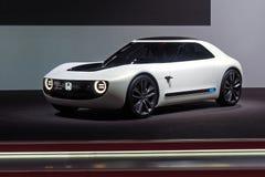 第88个日内瓦国际汽车展示会2018年-本田体育EV概念 免版税库存图片