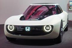 第88个日内瓦国际汽车展示会2018年-本田体育EV概念 图库摄影