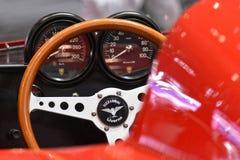 第88个日内瓦国际汽车展示会2018年- Bizzarrini P538薛佛列仪表板 免版税图库摄影