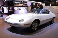 第88个日内瓦国际汽车展示会2018年- Corvair陆龟1963年 库存图片