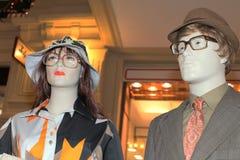 第70个时尚样式时装模特 图库摄影