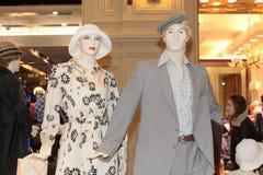 第70个时尚样式时装模特 库存图片
