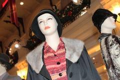 第60个时尚样式时装模特 库存照片