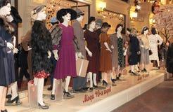 第40个时尚样式时装模特 免版税库存照片