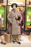 第70个时尚样式时装模特 免版税图库摄影