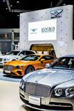 第39个曼谷国际汽车展示会2018年 库存照片