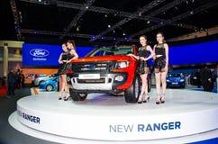 第35个曼谷国际汽车展示会2014年 免版税库存照片