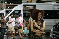 第36个曼谷国际汽车展示会2015年 免版税库存照片