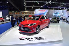 第38个曼谷国际泰国汽车展示会2017年 免版税图库摄影