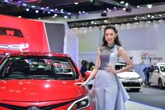 第38个曼谷国际泰国汽车展示会2017年 免版税库存照片