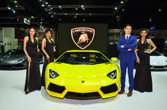 第37个曼谷国际泰国汽车展示会2016年 免版税库存照片