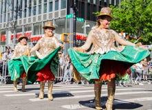 第13个每年纽约舞蹈游行和节日2019年 库存图片
