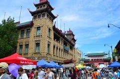 整整第37个每年唐人街的夏天 图库摄影
