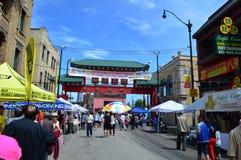 整整第37个每年唐人街的夏天 免版税库存图片