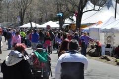 第37个每年黄水仙节日在梅里登,康涅狄格 免版税库存图片