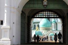 2007第23个耶路撒冷6月修道院新的俄国 俄国 图库摄影