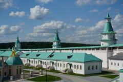 2007第23个耶路撒冷6月修道院新的俄国 库存照片