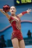 第32个节奏体操世界冠军 库存照片