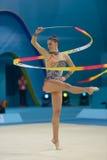 第32个节奏体操世界冠军 库存图片
