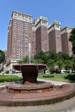 第8个街道喷泉 库存图片