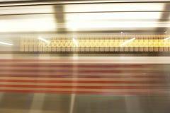 第34个街道地铁站- NYC 免版税库存照片