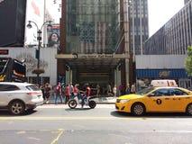 第34个街道Penn驻地,长岛铁路, MTA LIRR, NYC,美国 免版税库存照片