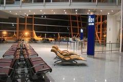2010第6个被采取的机场北京资本12月国际照片 库存图片