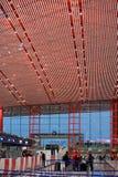 2010第6个被采取的机场北京资本12月国际照片 免版税库存图片