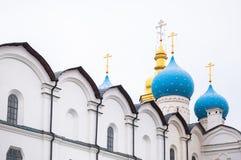 17第19个通告大教堂世纪城市哈尔科夫地标乌克兰 库存图片