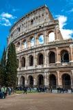 第19个2011年背景colosseum欧洲扣人心弦的论坛去的小山意大利地标找出许多可以多数一张照片罗马罗马被采取对旅游视图访问 图库摄影