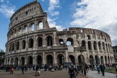 第19个2011年背景colosseum欧洲扣人心弦的论坛去的小山意大利地标找出许多可以多数一张照片罗马罗马被采取对旅游视图访问 免版税库存照片