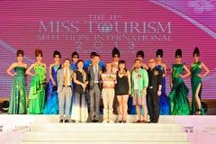 第11个Tourism小姐选择国际性组织2013年 库存照片