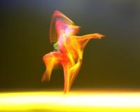 第10中国艺术节舞蹈竞争-跳舞 免版税库存图片
