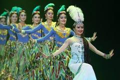 第10中国艺术节舞蹈竞争 免版税库存照片